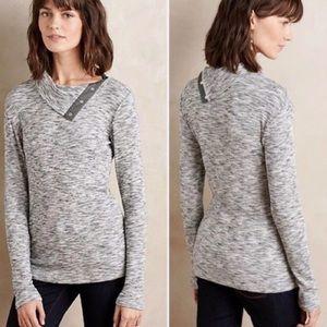 Anthropologie Dolan Snap Neck Sweater Size Medium